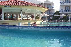 Pefki Island pool bar