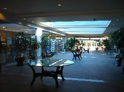 Lobby with shops