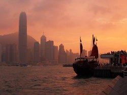 Tsim Sha Tsui waterfront at sunset (20001808)