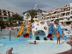 Kids waterpark at the hotel