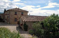 Piccola Villa and the main house taken from Elena's garden