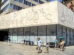 College of Architects of Catalonia, Picasso Wall
