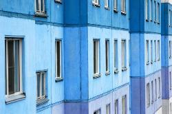 Un coup de peinture et on voit la vi(ll)e en bleu ! (20185325)