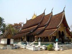 Gyllene stadens tempel (Wat Xieng Thong)