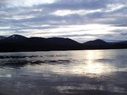 Loch Morlich 5 mins from Hotel