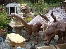 Dinosaurs of Spanish Town
