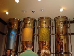 Ingredients used to brew Heineken