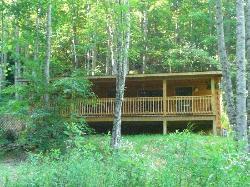 The Cabin hidden in the woods