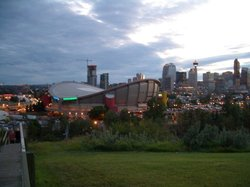 The Scotiabank Saddledome