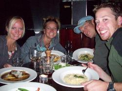 dinner at the Capitol Restaurant