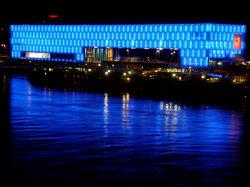 Lentos Kunstmuseum (Museum of Modern Art Linz)