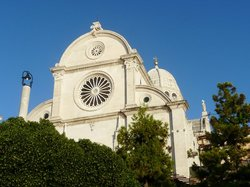 The Cathedral of St James in Sibenik - UNESCO World Heritage Site