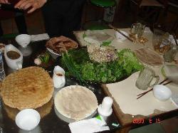 Very exotic food we had with lots of fresh vegetable