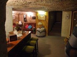クーバーペディの地下の家