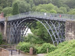 The Iron Bridge and Tollhouse