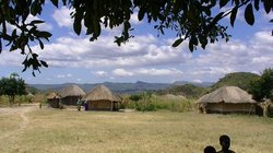 One of my favorite pictures of a typical village in Nkhoma.