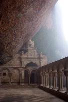 Monasterio de San Juan de la Peña. Santa Cilia (Huesca)