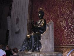 St. Peter Enthroned