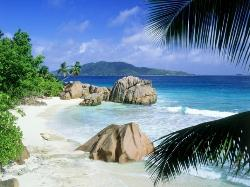 La Digue ist die viertgrößte der Granitinseln der Seychellen. Die Insel ist etwa fünf Kilometer (21273445)