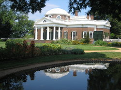 Thomas Jefferson'un Monticello'su