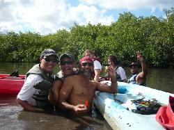 En medio de los manglares