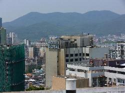 Hotel Roayl looking from the Farol da Guia