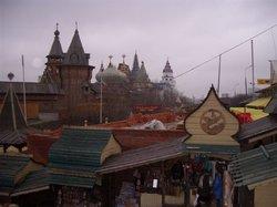 Izmailovsky Park und Markt