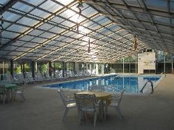 Large indoor pool