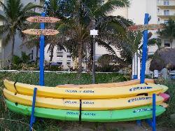 Kayaks at Wyndham Royal Vista