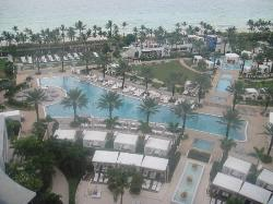 Pool vew from room