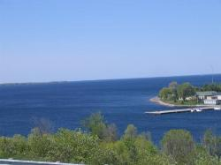 The view from fort henry