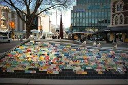 Christchurch outdoor mall, mosaic (21544722)