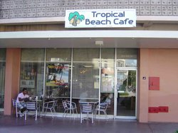Tropical Beach Cafe