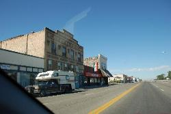 Manhattan Cafe down the street in Shoshone, Idaho