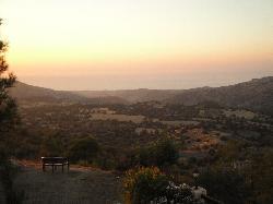 views from balcony