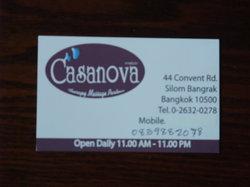 Casanova Massage