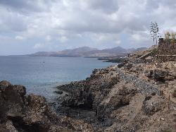 on the walk to Puerto Calero