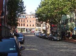 the cobblestone streets of prtland (22131172)