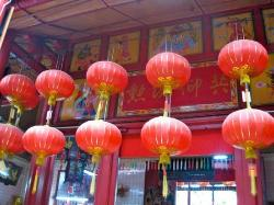 Chinatown walking tour: Sze Ya Temple.  Oldest Taoist temple in KL.