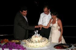 Pino e il taglio della torta