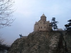 Памятник королю Вахтангу I Горгасалу
