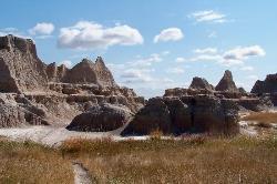 Amazing Badlands National Park