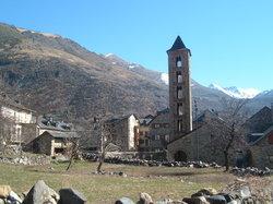 Iglesias románicas catalanas de la Vall de Boí