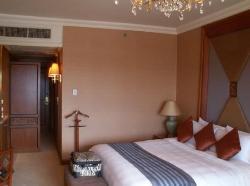 Our room at ShangriLa in Bangkok.