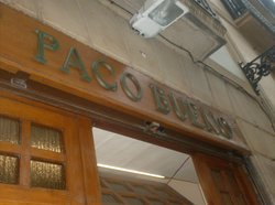 Bar Paco Bueno