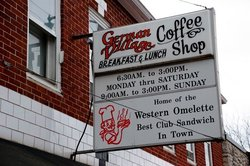 German Village Coffee Shop