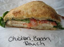 Chicken Bacon Ranch Ciabatta