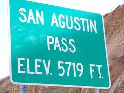San Agustin Pass