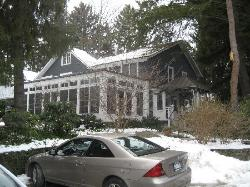 Main house where I stayed