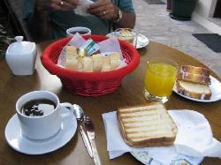 Breakfast at Pension Dafni